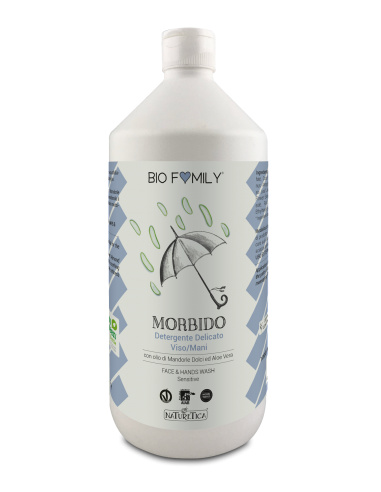 Biofamily - Detergente viso/mani Morbido - Naturetica