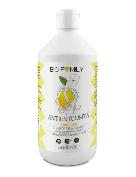 Biofamily - Shampoo Antiuntuosità - Naturetica