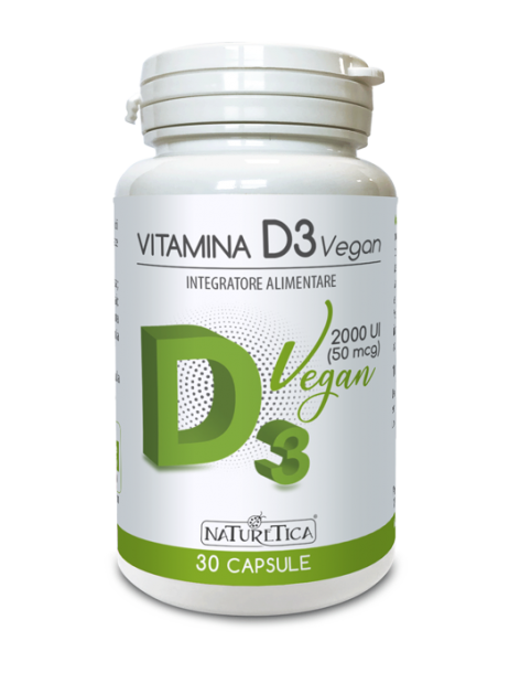 Vitamina D3 Vegan - Naturetica