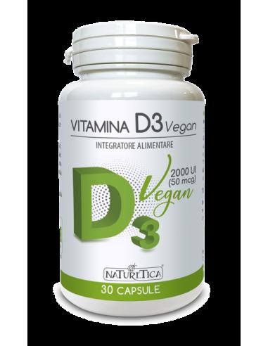 Vitamina D3 Vegan - Naturetica