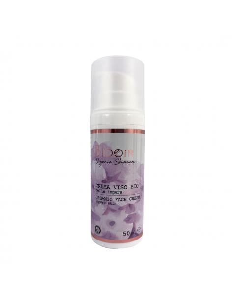 Bloom - BIO Crema viso - Pelle Impura- Naturetica
