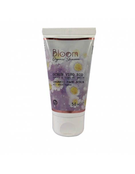 Bloom - Bio Scrub Viso - Naturetica