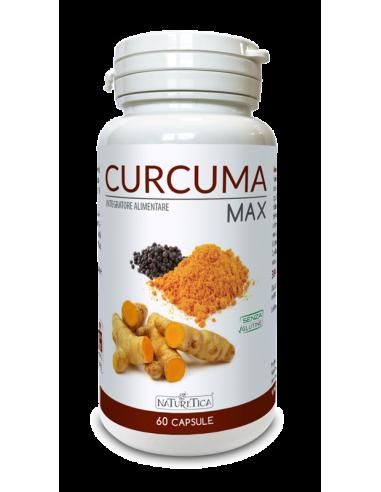 Curcuma Max 60 capsule - Naturetica