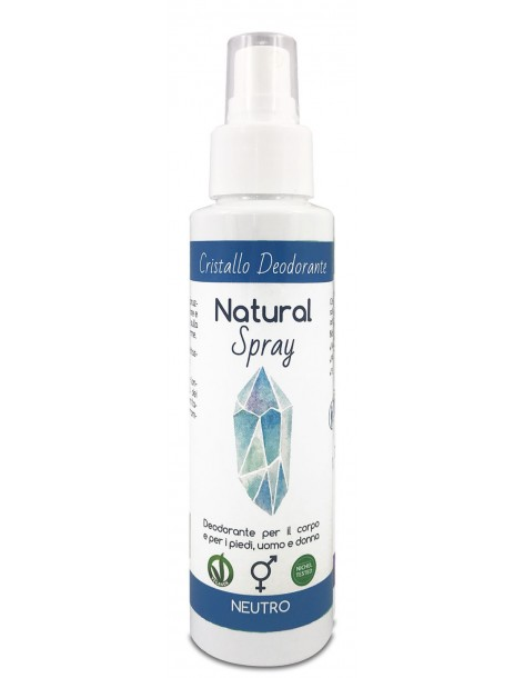 Natural Spray Mist - Cristallo Deodorante - Naturetica